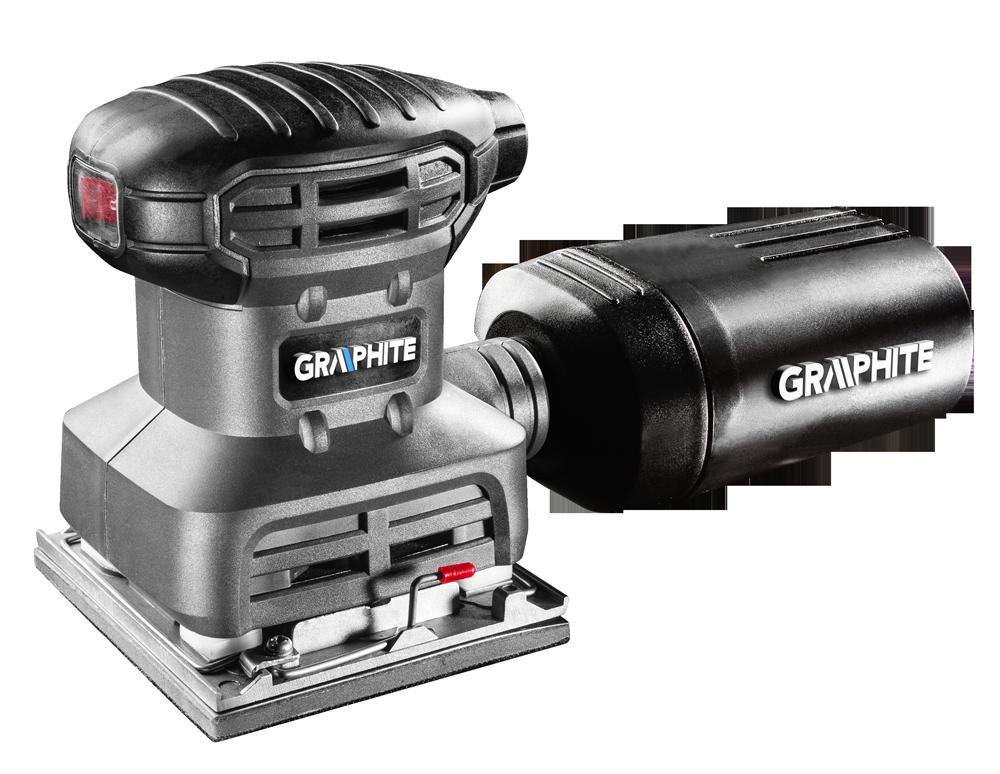 Graphite szlifierka oscylacyjna 220W 104x112mm (59G320) 1