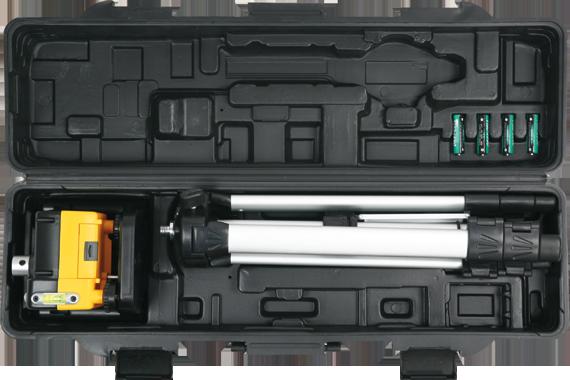 Topex Poziomnica laserowa obrotowa + statyw (29C908) 1