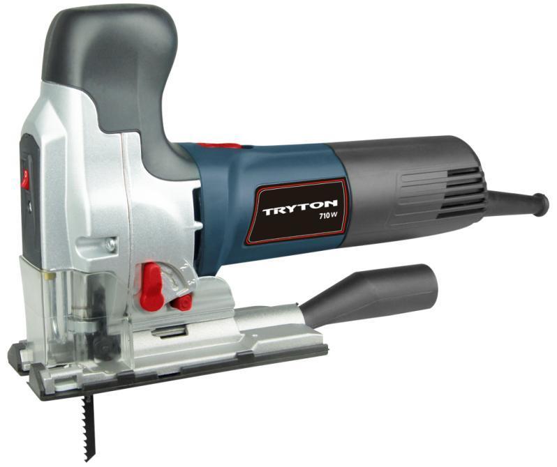 Tryton Wyrzynarka 710W T-shape 0-3000/min. wskaźnik laserowy - TMR711K 1