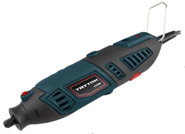 Tryton mini szlifierka 170W + 130 sztuk osprzętu (TMG170K) 1