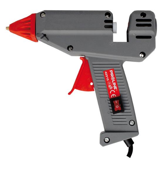 Proline Pistolet do kleju z przełącznikiem 11mm 28/180W - 42915 1