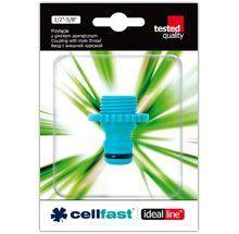"""Cellfast Przyłącze z gwintem zewnętrznym 1/2"""" 50-230 1"""