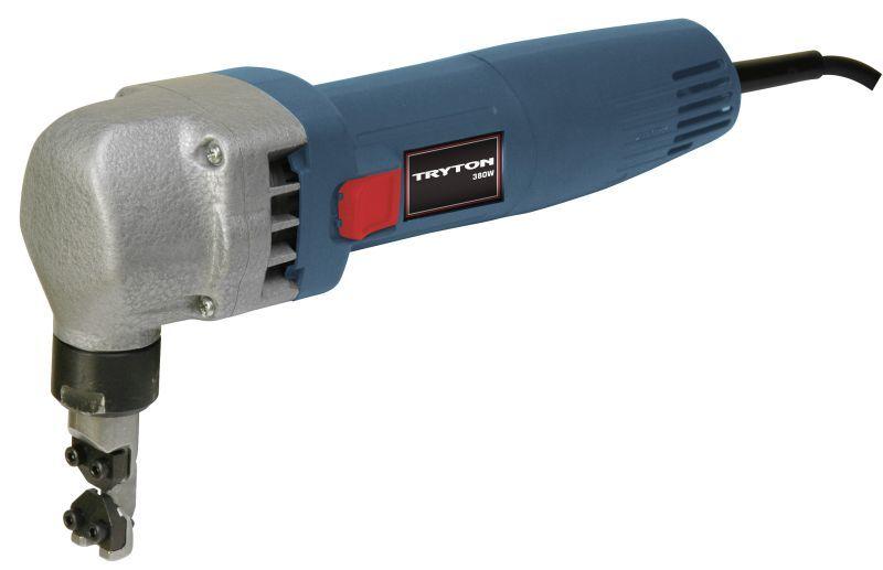 Tryton Elektryczne nożyce do blachy 380W + 2 noże + kufer - TNB380K 1