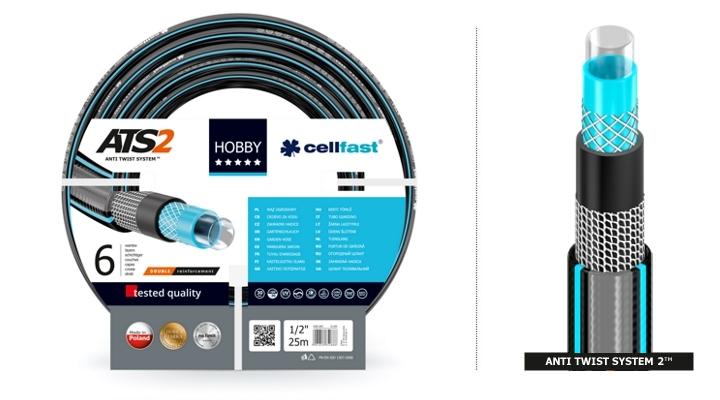 """Cellfast Wąż ogrodowy Hobby 3/4"""" 50m (16-221) 1"""