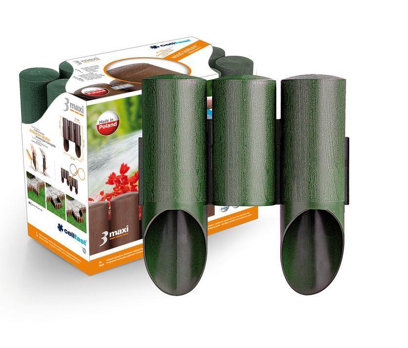 Cellfast Palisada ogrodowa MAXI 2,1m 3 elementy zieleń - 34-012 1