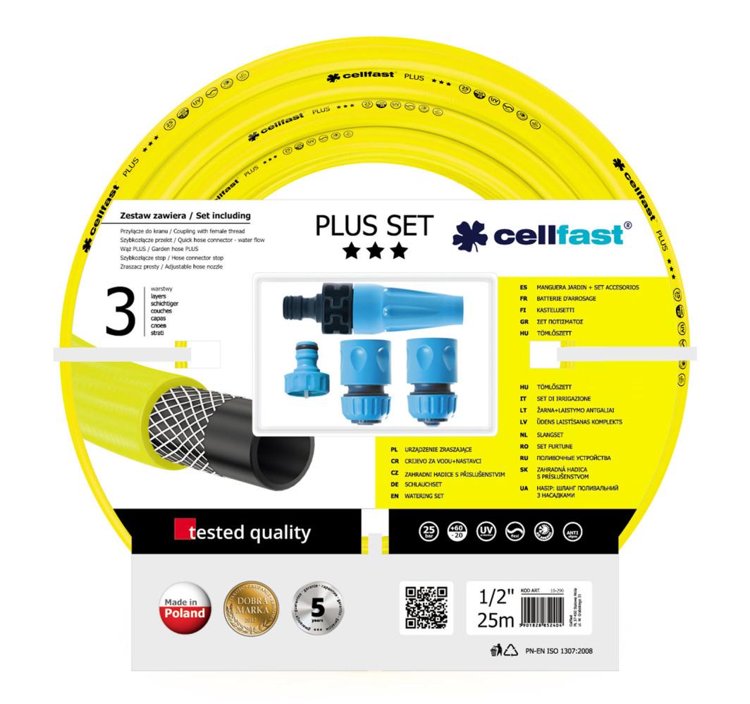"""Cellfast Zestaw zraszający PLUS 1/2"""" 25mb 10-290 1"""