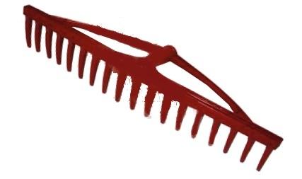 Profix Grabie plastikowe do siana 18-zębów nieoprawne 60cm 12251 1