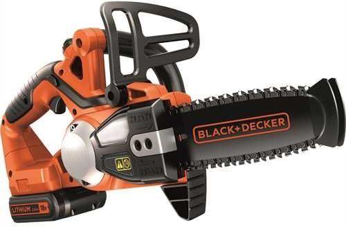 Black&Decker Pilarka łańcuchowa akumulatorowa 18V 2.0Ah 20cm (GKC1820L20) 1