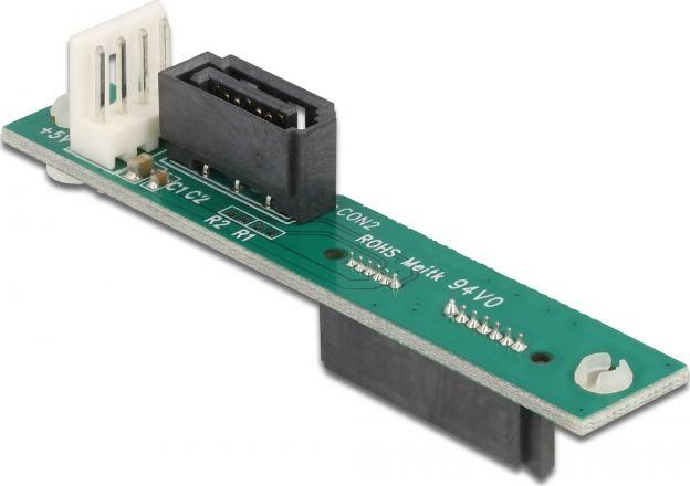 Delock Adapter SATA Slimline 7+6-pin -> SATA 7-pin(61667) 1