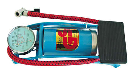 Mega Pompka nożna z manometrem 3atm - 24760 1