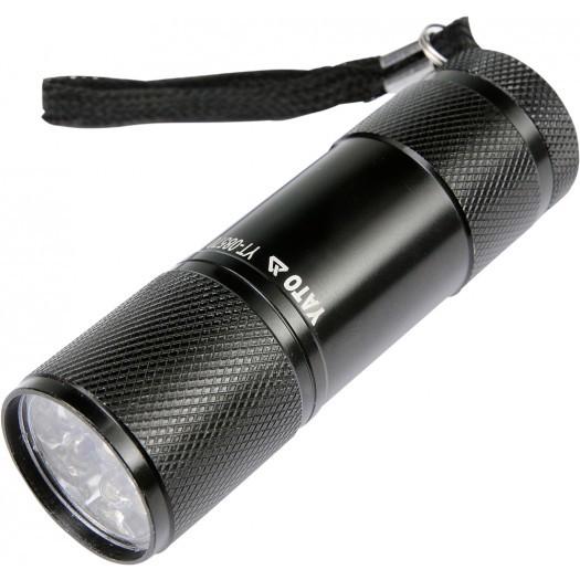 Latarka Yato Latarka aluminiowa 9 LED czarna - YT-08570 1