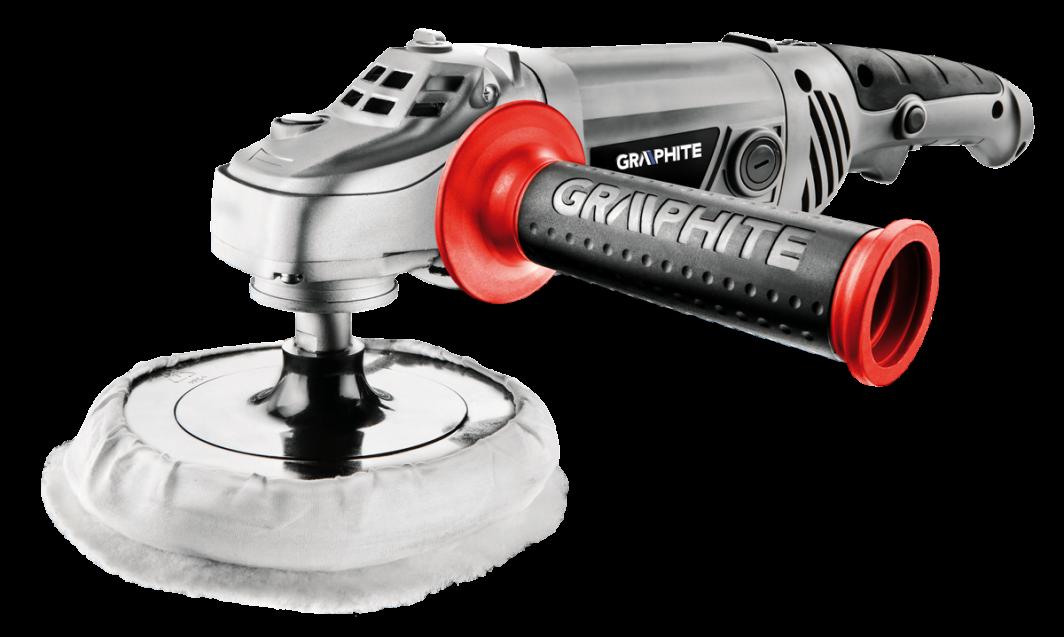 Graphite Polerka 1300W tarcza 180mm 1000-3000obr/min (59G243) 1