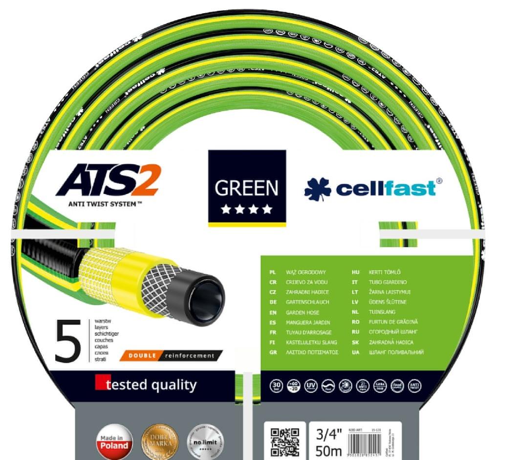 """Cellfast Wąż ogrodowy Green 3/4"""" 50m (15-121) 1"""