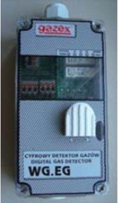 Gazex Detektor CO (sterownik wentylacji) - WG-22.EG 1
