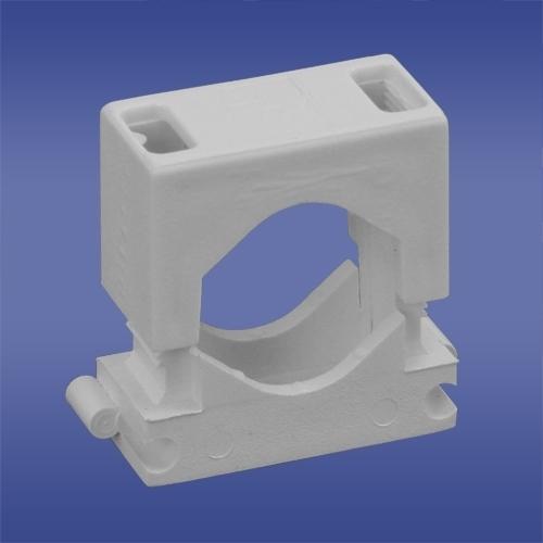 Organizer Elektro-Plast Uchwyt montażowy Biały 50 sztuk  (12.7) 1