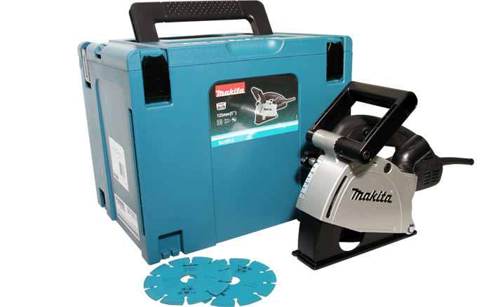 Makita Bruzdownica SG 1251 J 1400W 125mm (SG1251J) 1
