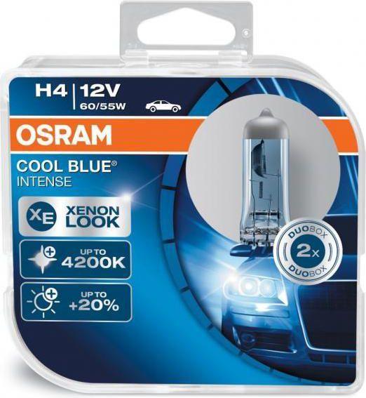 Osram Żarówka H4 Cool Blue Intense 12V 60/55W P43T 1