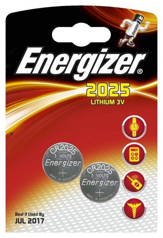 Energizer Bateria CR2025 165mAh 2szt. 1