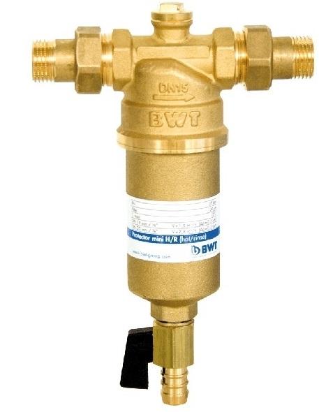 """BWT Filtr mechaniczny PROTECTOR MINI H/R 1"""" gorąca woda 810541 1"""