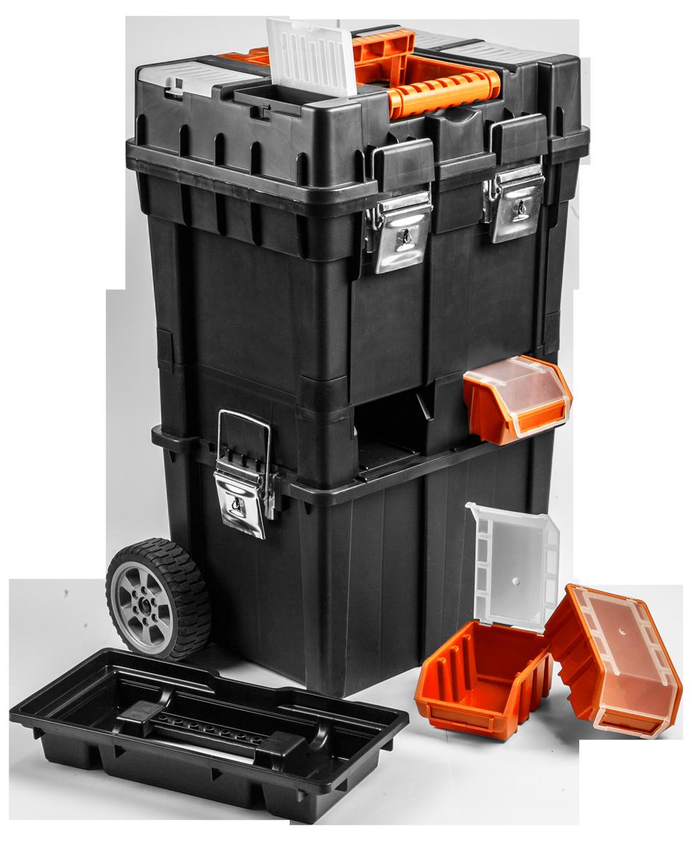 NEO Skrzynka narzędziowa HD Compact na kołach (84-115) 1