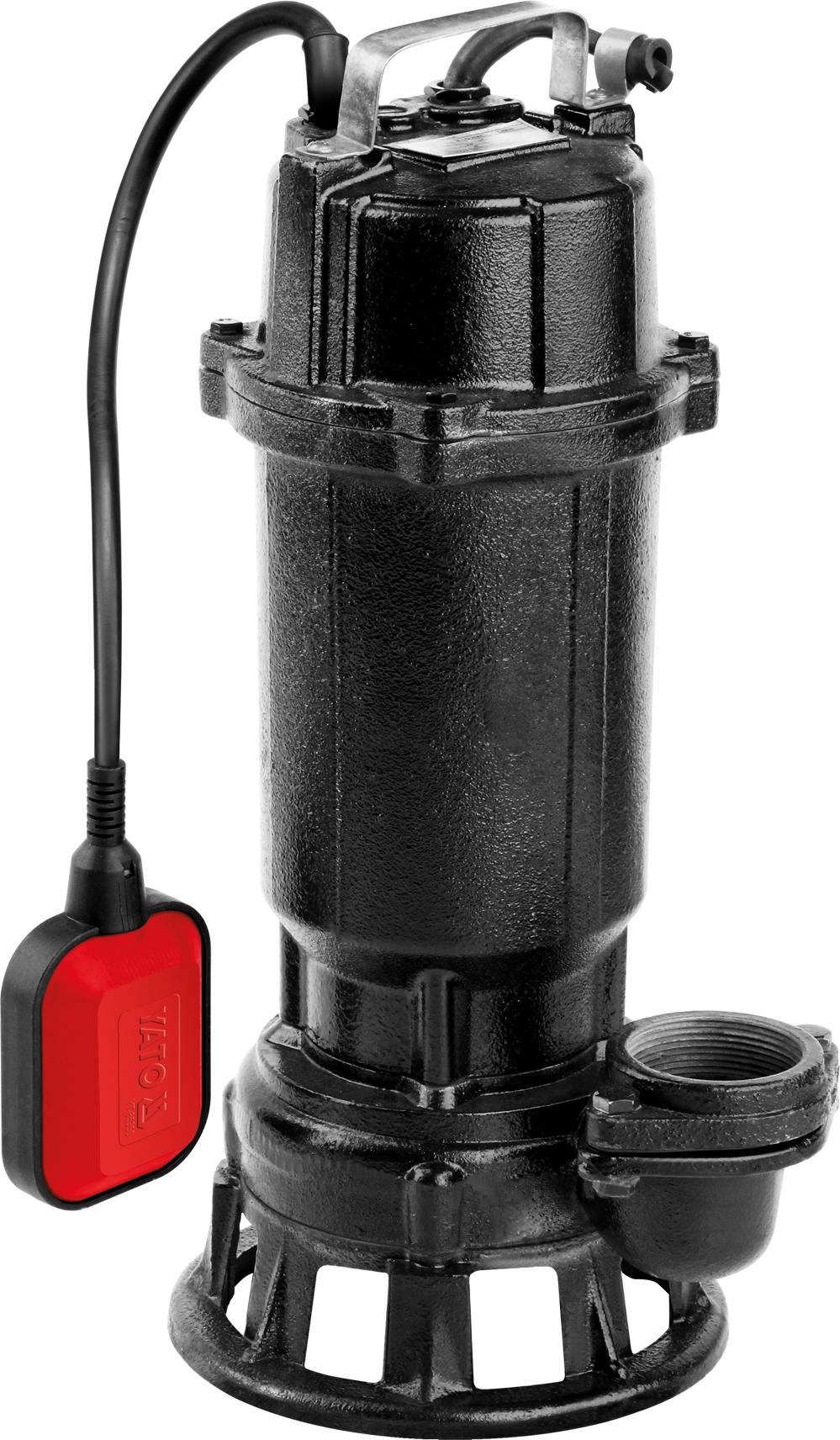 Yato Pompa żeliwna z rozdrabniaczem 750W (YT-85350) 1
