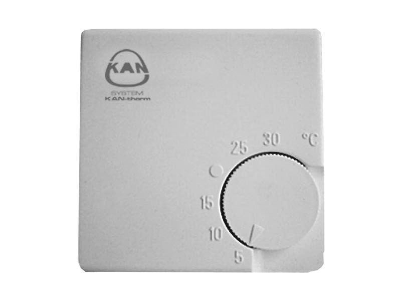 KAN-therm Termostat bimetaliczny pokojowy 24V/230V - 0.6107 1