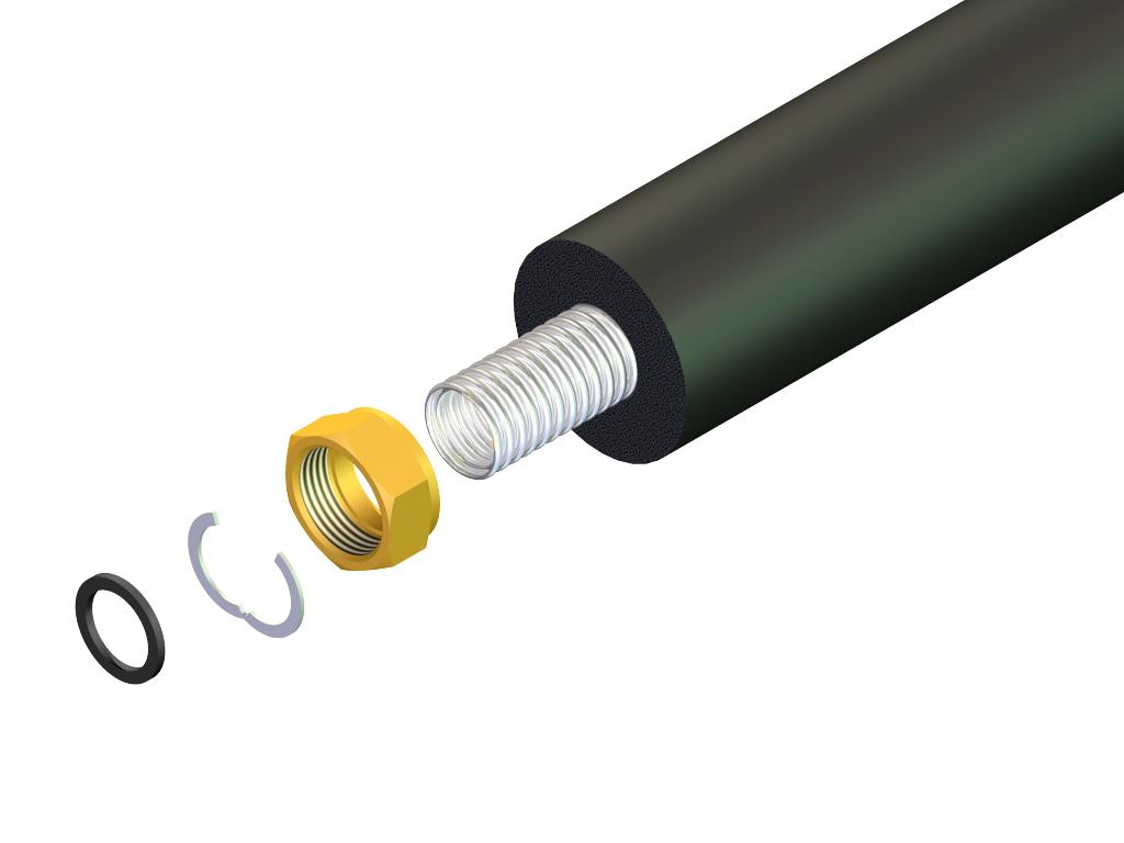 """Hewalex Nakrętka 3/4"""" do rury elastycznej SNP-DN16 - 80.43.05 1"""