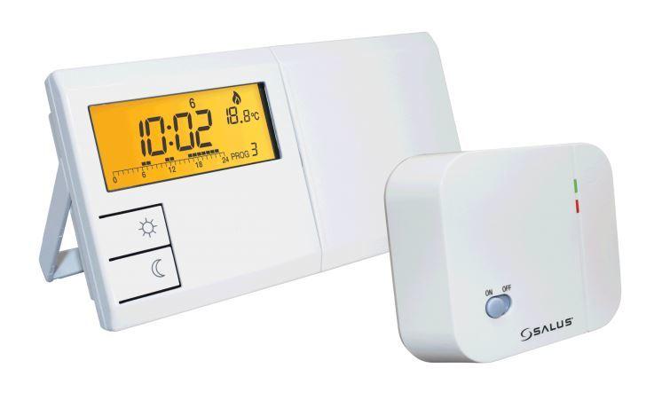 Salus Bezprzewodowy programowany regulator temperatury tygodniowy (091FLRF) 1