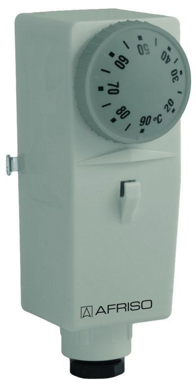 Afriso Termostat przylgowy BRC 20-90°C nastawa zewnętrzna - 6740100 1