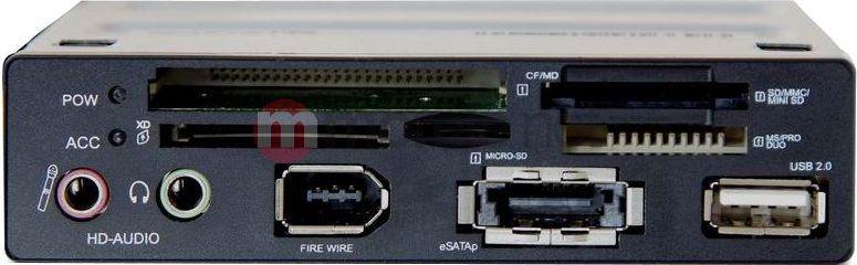 Czytnik Delock All in One eSATA/USB 2.0 Intern/FireWire (91669) 1