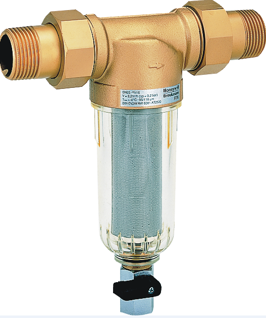 """Honeywell Filtr do wody drobnosiatkowy z opłukiwaniem 1/2"""" (FF06-1/2AA) 1"""