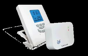 Salus Regulator temperatury tygodniowy elektroniczny bezprzewodowy - T105RF 1
