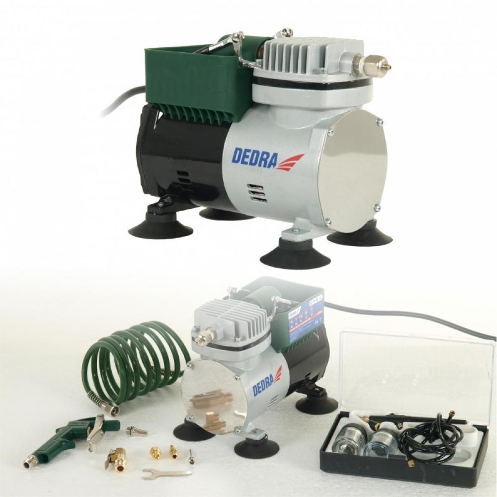 Dedra Kompresor mini 300W + aerograf zestaw (DED7470) 1