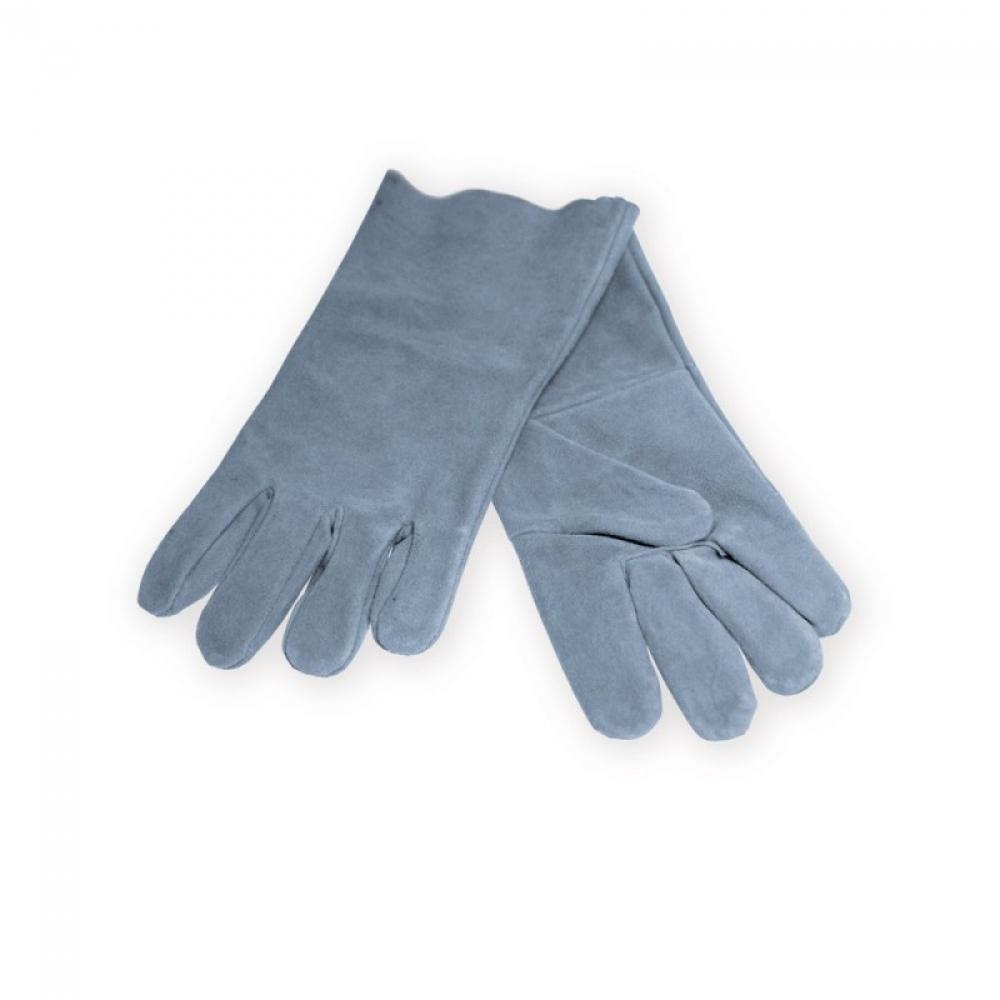 Dedra Rękawice ochronne spawalnicze skóra bydlęca dłoń z jednego kawałka 37cm - BH1005 1