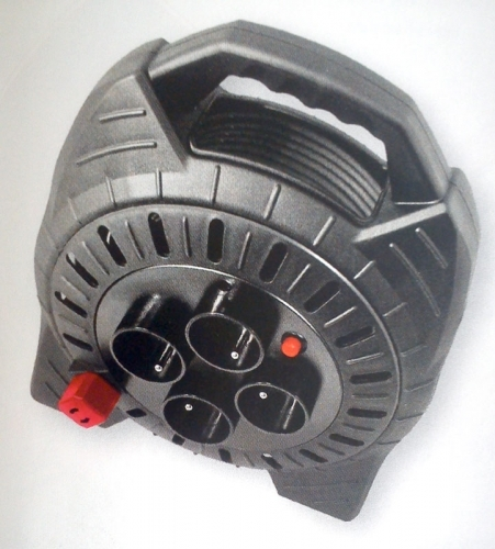 Modeco Przedłużacz zwijany 3x1,5mm 230V 10m MN-99-921 1