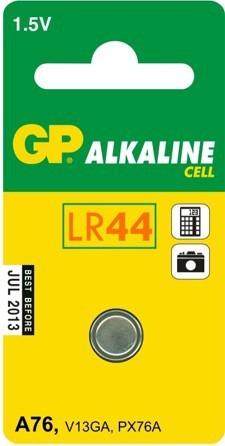 GP Bateria Cell LR44 110mAh 1szt. 1
