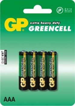 GP Bateria Greencell AAA / R03 4szt. 1