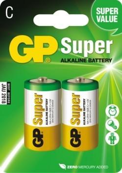 GP Bateria C / R14 2szt. 1