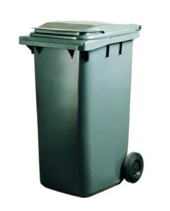 Pojemnik na odpady 120L zielony 1