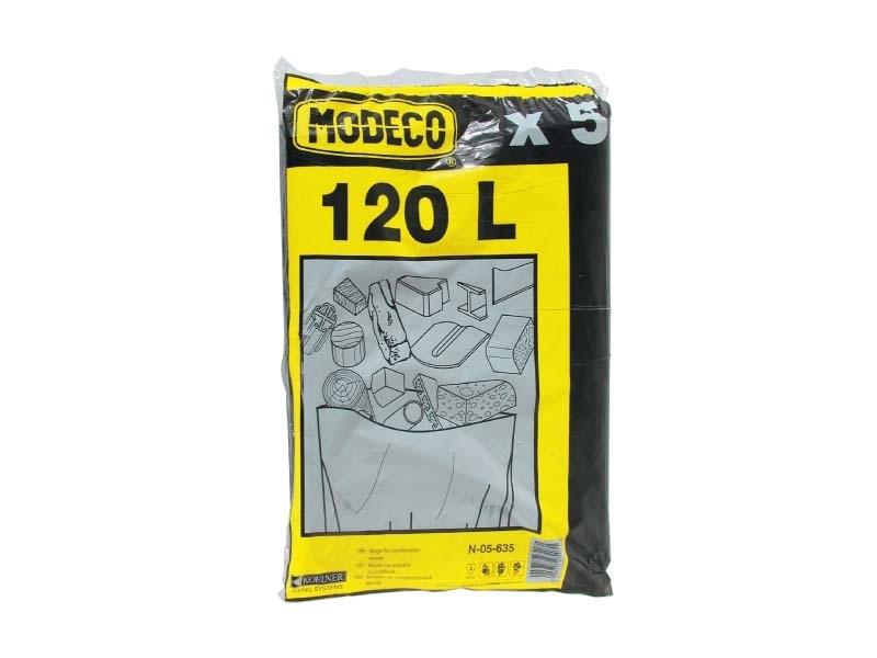 Modeco Worki na odpady budowlane 120L 5szt. (MN-05-635) 1