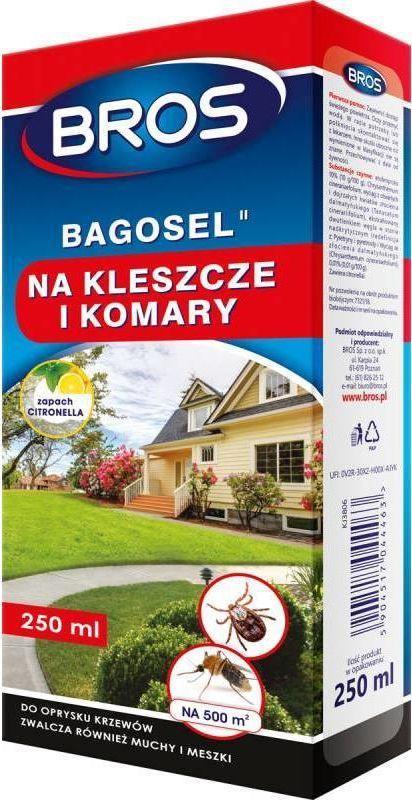 Bros Preparat do oprysku ogrodu BAGOSEL 100EC przeciw komarom 250ml 379 1