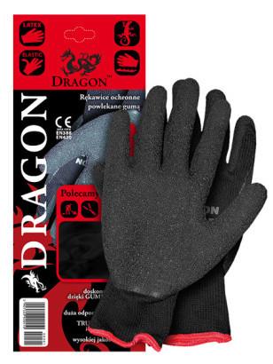 Reis Rękawice ochronne wykonane z dzianiny powlekane rozmiar 9 - DRAGON BB 9 1