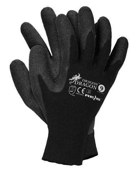 Reis Rękawice ochronne RDR BB wykonane z dzianiny powlekane rozmiar 8 - RDR BB 8 1