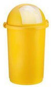 Kosz na śmieci Push uchylny 50L żółty (POJ PU ŻÓŁ) 1