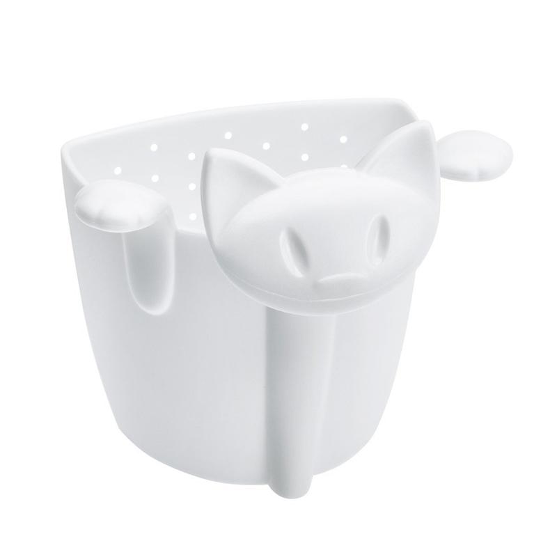 Koziol Zaparzaczka do herbaty MIMMI - kotek biała (KZ-3236525) 1