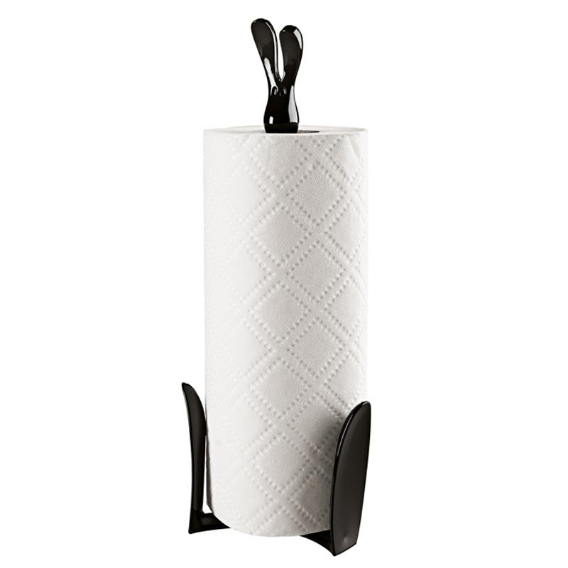 Koziol Stojak na ręczniki papierowe ROGER czarny 1