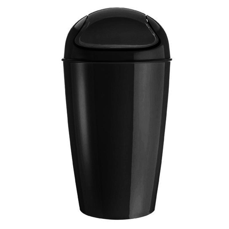 Kosz na śmieci Koziol uchylny czarny (KZ-5773526) 1
