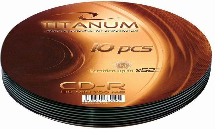 Esperanza CD-R 700 MB 52x 10 sztuk (2023 - 5905784760599) 1