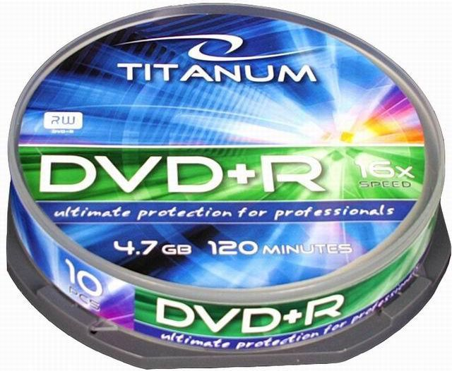 Esperanza DVD+R 4.7 GB 16x 10 sztuk (DVD+RTC10) 1