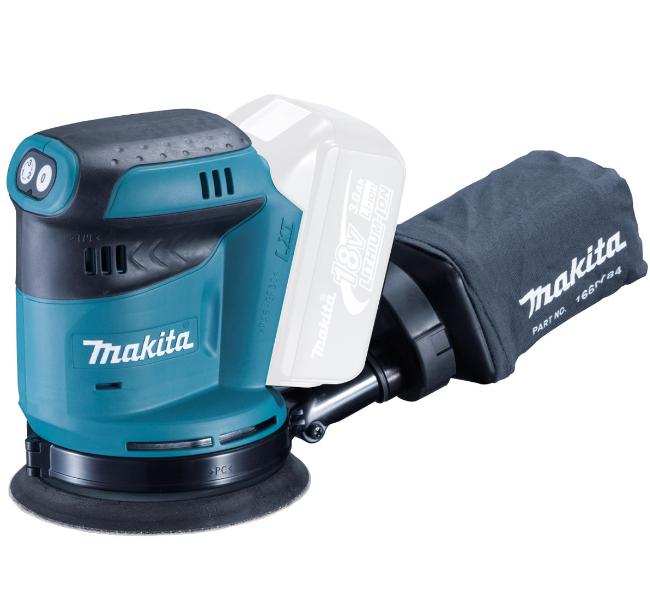 Makita szlifierka mimośrodowa akumulatorowa 18V 125mm solo (DBO180Z) 1